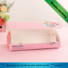 elegant pink take away disposable hotdog paper food trays