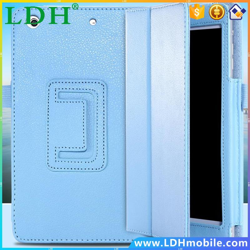 Top Quality Leather Tablets Case For Apple iPad 2 3 4 Smart Stand Display Pen Slot Lychee Book Cover For iPad 2 3 4