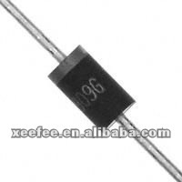 MUR460-E3/54# Standard 4A 600V 50NS Ultra Fast Recovery Rectifier Diode in DO-201AD