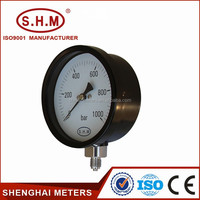 Air gas pressure gauge measuring instruments