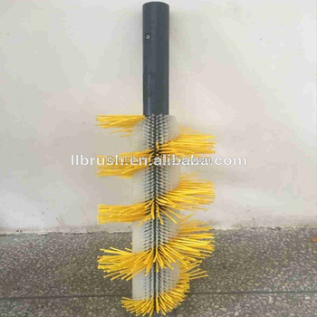 customized industrial brush for machine part