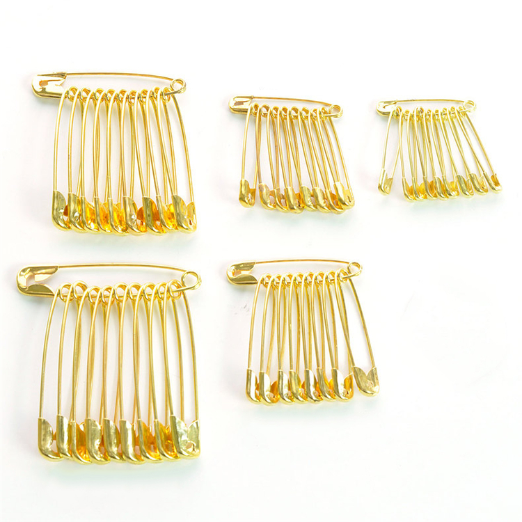 Factory Wholesale 27mm 31mm 37mm 43mm 54mm metal safety pin  large