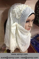 new design design muslim wedding stone hijab dubai hijab