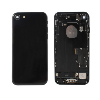 Factory price Housing Back Battery Cover Mid Frame Assembly for iPhone 7 7+ black