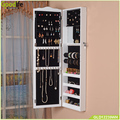 Chinese Goodlife Wooden wall mount mirror jewelry cabinet
