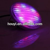 IP68 100% waterproof stainless flat rgb led swimming pool light 12v