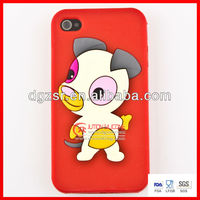 New arrival custom cheapest 3D for iphone 5 silicone case
