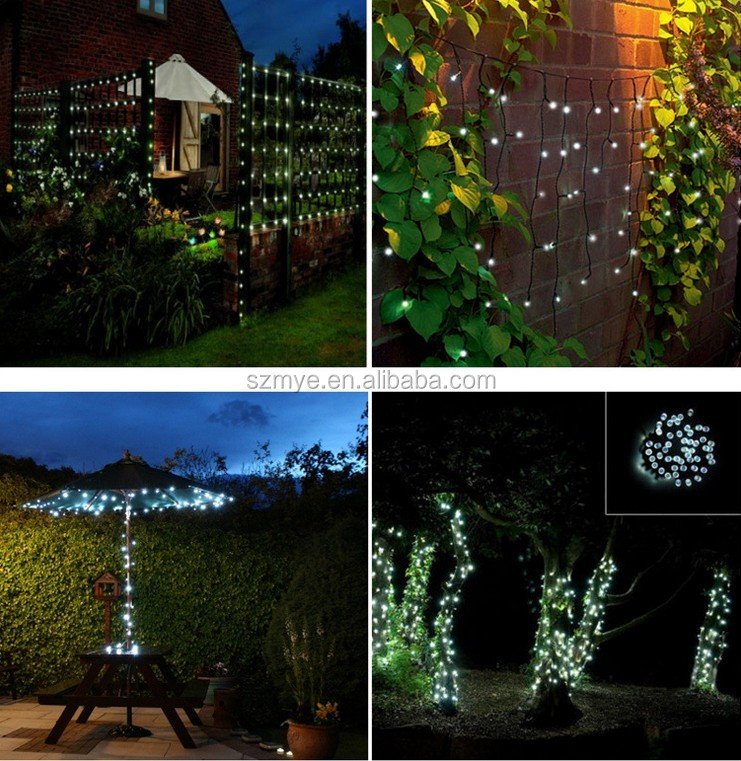 Solar String Lights For Palm Trees : 200leds 5v Flash Palm Outdoor Courtyard Angel Colorful Decoration Led Solar Christmas String ...