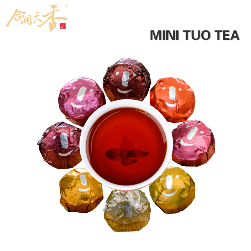 Detox drink 8 kinds mini cake tea reduce blood fat