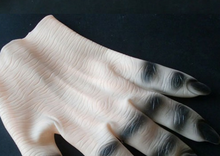 YIWU caddy HP-106 Vampire Latex Gloves for Halloween Decorated with Nail