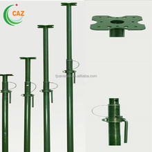 Construction Support Pole Adjustable Height Steel Prop Scaffolding