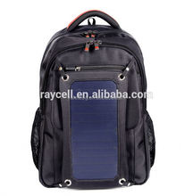 Backpack Portable Solar Charger for Laptops, Tablets, and Phones with 20,000mAh/72Wh Battery