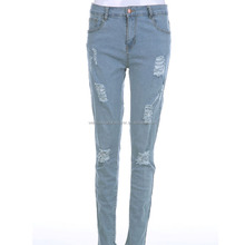 China Jeans Manufacturers Wholesale Low Price Skinny Jogger Jeans