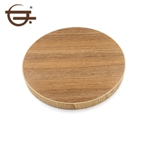 Wholesale Wood Nature Fancy Photo Round Serving Tray