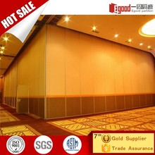 China mobile sound proof partition panel for auditorium