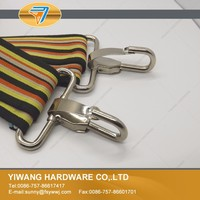 Fashion high quality metal clasp bag hook for luggage accessories