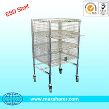 wire mesh trolleys for cleanroom