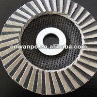 4'',4.5'',5'';Diamond abrasive cloth FLAP DISC