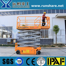 Genie type 10m raised lift platform