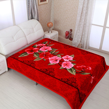 NEW! Factory outlet bargain price 100% polyester raschel blanket for dubai