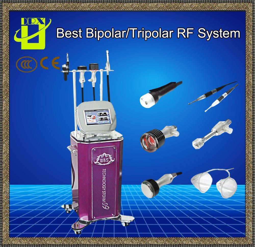 Slimming machine,Ultrasound&Liposuction&RF&Ice refrigeration&Electrostimulation&Breast enhancement technology