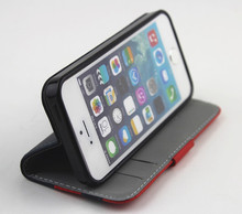 "PU leather case with card holder for iphone 5"" accessories, for iphone 5c case, custom for iphone 5s case"