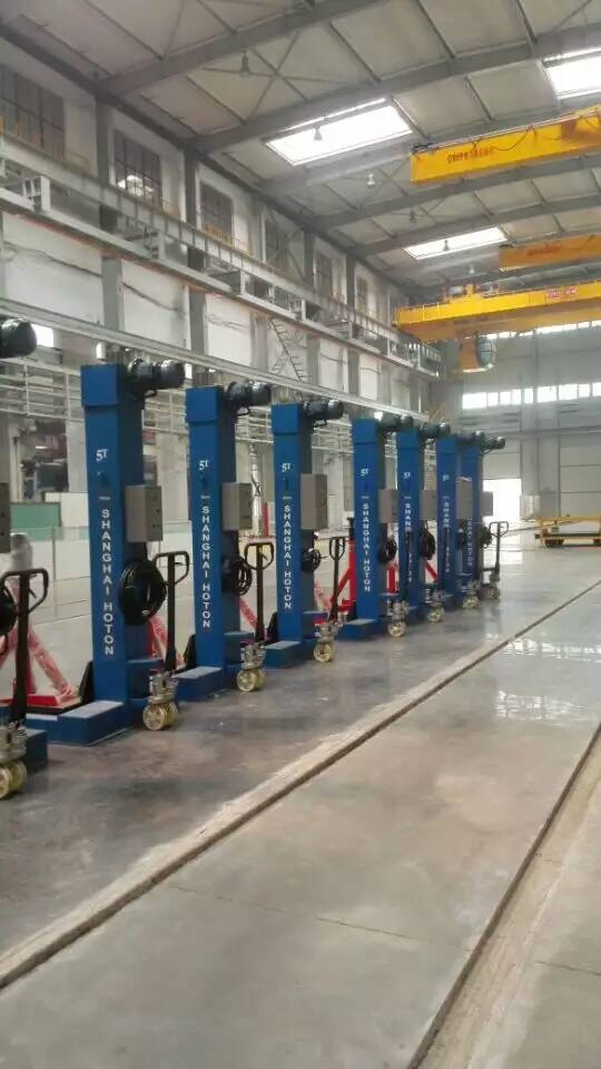 Heavy mobile Bus lift 20T bus heavy duty lift