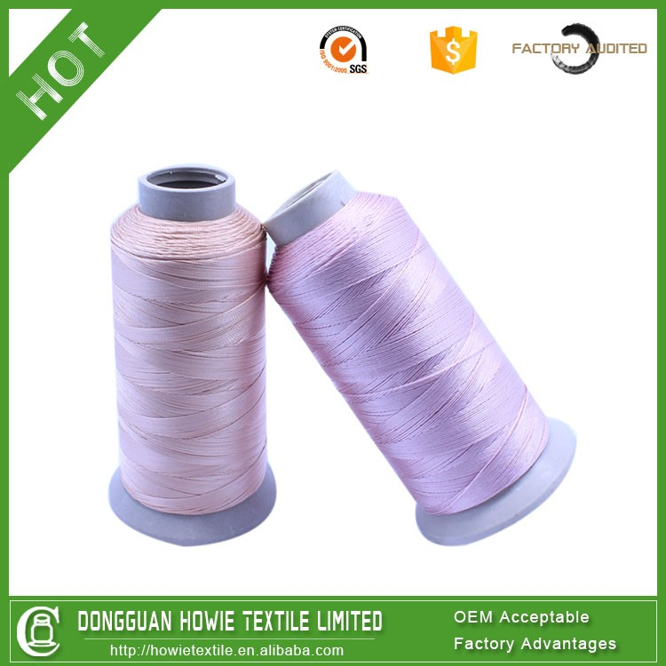 durable high visible 150D nylon reflective sewing thread