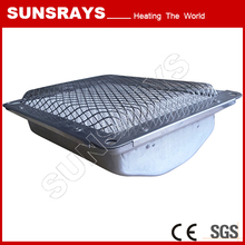 Infrared heater for bbq gas grill