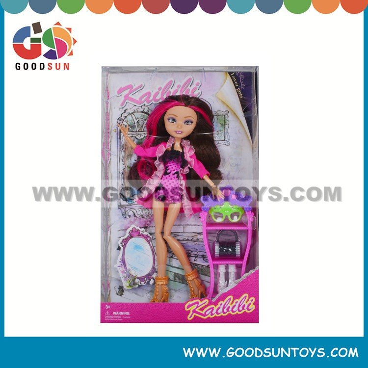 11'' Plastic Educational Toy Beautiful American Girl Doll