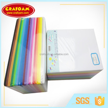 Color marine eva foam sheet factory for art and craft materials eva foam rubber wholesale