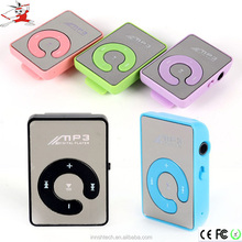 2016 Wholesale Factory Price Mini Clip MP3 Player,Portable MP3with 8gb TF Card Mp3