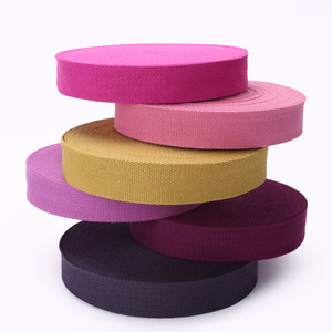 Factory price jacquard webbing strap with custom logo