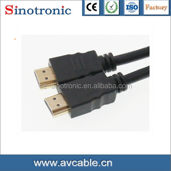 HDMI Cable 1.4V with 24K gold-plated connector,1.5m to 30m
