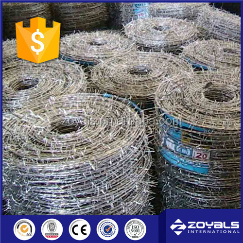 2017 good quality barbed wire reel