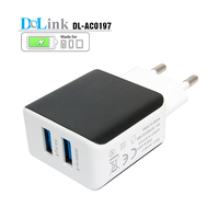 OEM EU US 2 USB port 5.3V 3.5A Travel Charger Portable Super Fast Cell Phone Charger For Mobile Phone Charger