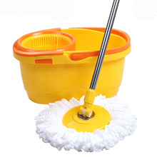 Household cleaning mop products, stainless steel basket microfiber spin mop