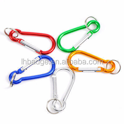 Gift Mixed Carabiners Climbing Camp Keychains Clips Hooks