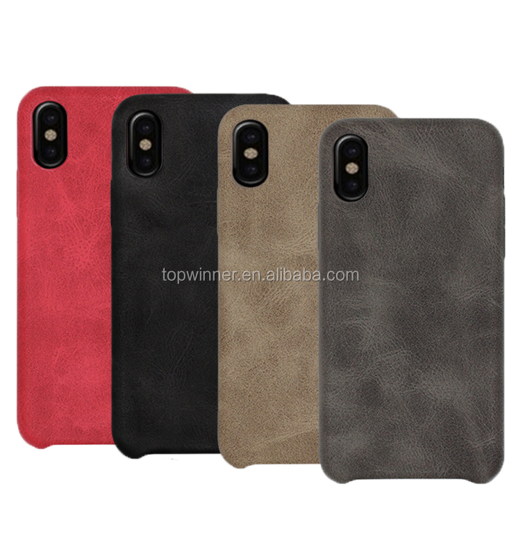 Best Selling Good Quality PU Leather case cover for <strong>Iphone</strong> X 10