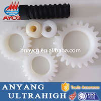 high quality customized wear resistant plastic worm gear