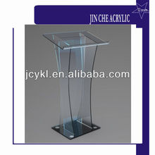 Modern Plexiglass Podium,Clear Acrylic Lecture