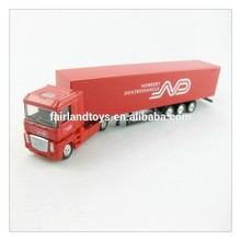 1 87 scale die casting metal toy truck model