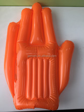 EU Standard Phthlate free promotional product Inflatable hand / supporter
