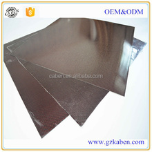 Carbon fiber sheet Soft Carbon Fiber Leather Sheet Used For Wallet luggage Coated TPU sheets and epoxy surface bag fabric