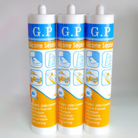 GP liquid silicone sealant,high quality silicone sealant brown