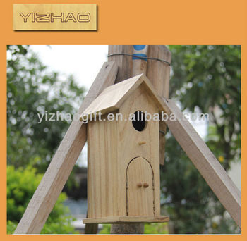 special indoor decorative wooden bird house buy wooden. Black Bedroom Furniture Sets. Home Design Ideas