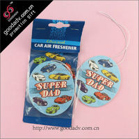 OEM Factory professional production paper hanging fragrance car perfume card