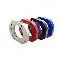 High quality cnc milling aluminum colour anodized Power throttle body Spacer