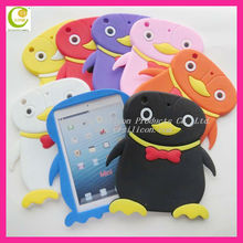 Factory supply high quality silicone case for ipad rock case,smart silcone case for ipad mini