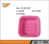 FDA & LFGB food grade silicone mold soap